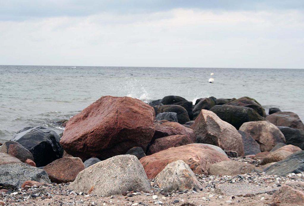 Findlinge Ostseestrand