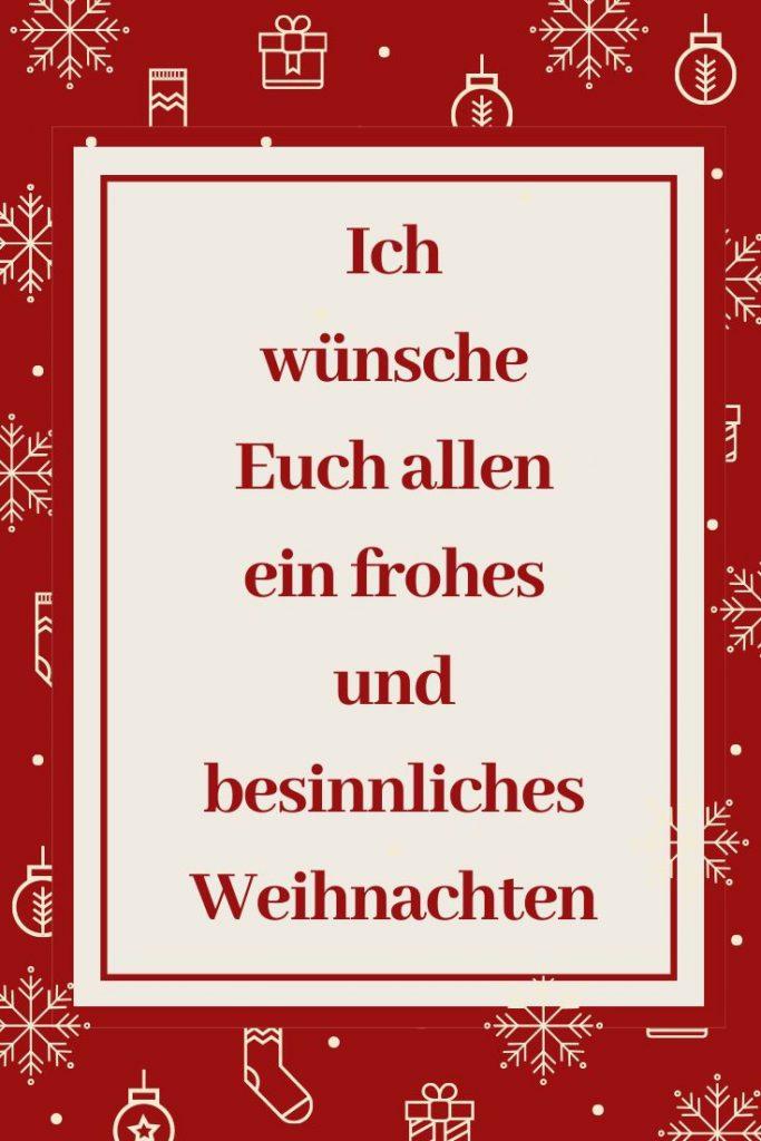 Weihnachtsgrüße für Pinterest