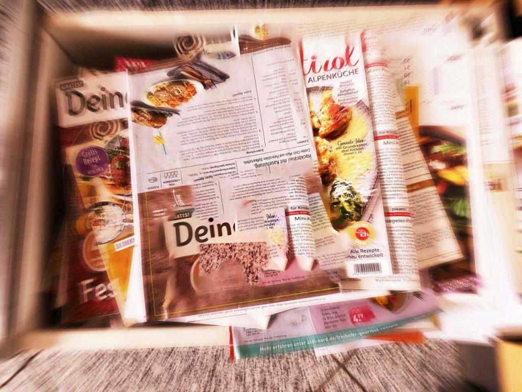 Kochzeitschriften mit Photoshop verändert