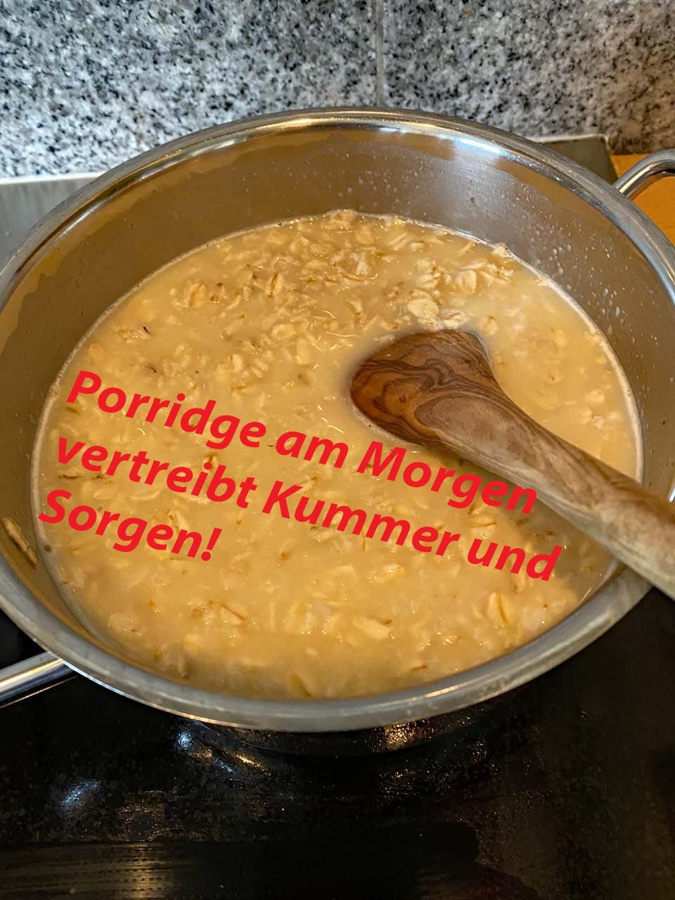 Haferbrei Haferschleim Porridge Oatmeal