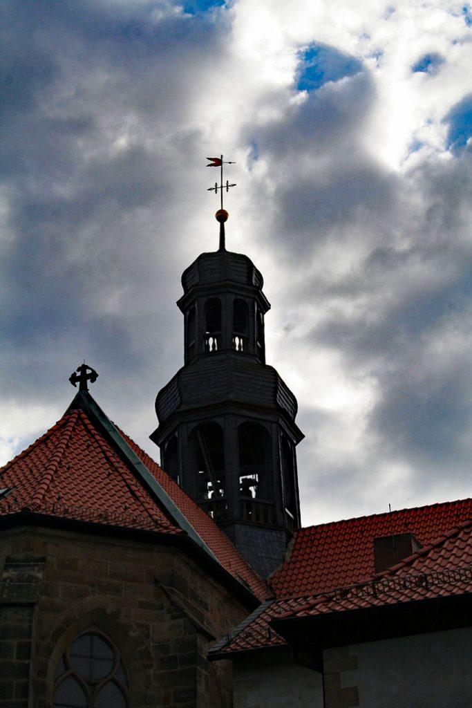 Klosterkirche St. Michael auf dem Klostergelände Marienrode in Hildesheim