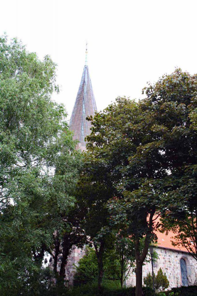 Borbyer Kirche in Eckernförde Kirchturm