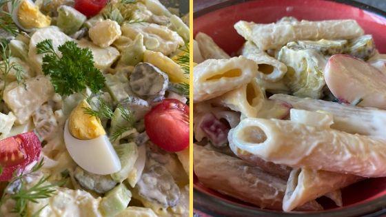 2 lecker leichte Sommersalate als Beitragsbild