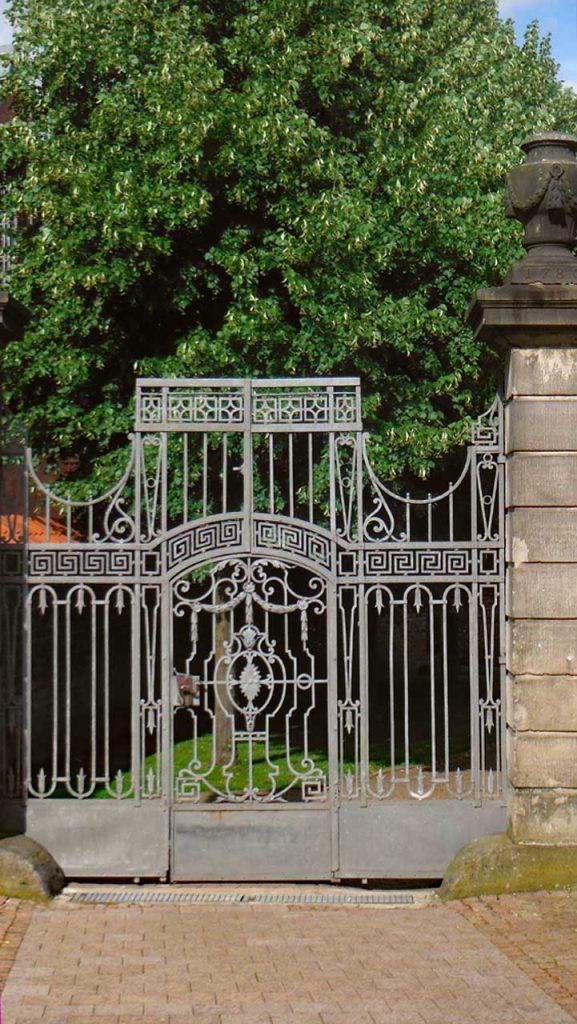 Eingangstor zum Klostergarten Walsrode