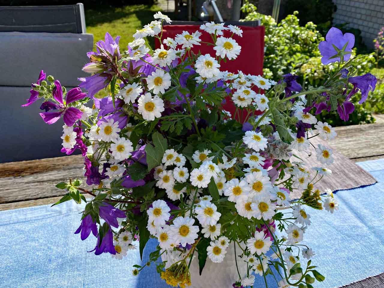 Blumengrüsse aus dem Bauerngarten