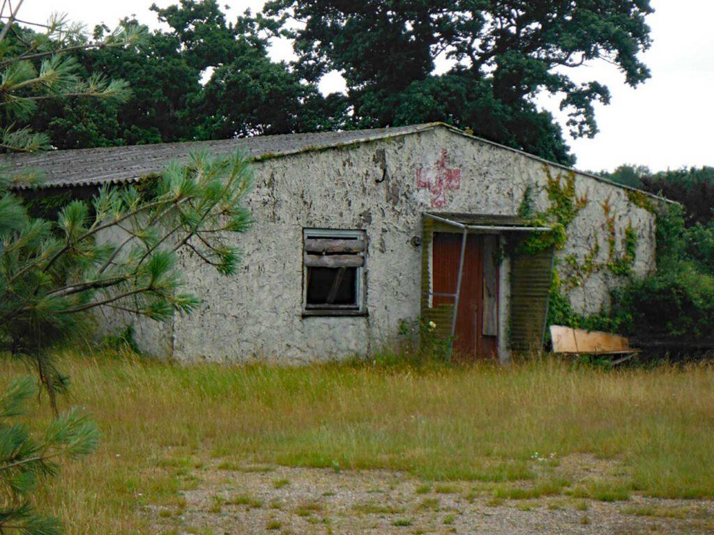 Marodes Haus in der Nähe von Kiel