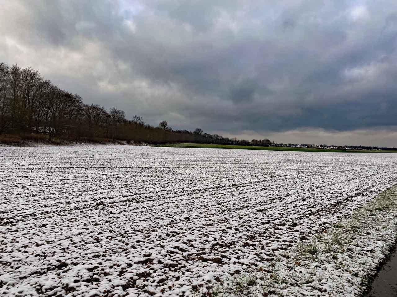 Himmelsblick im Winter
