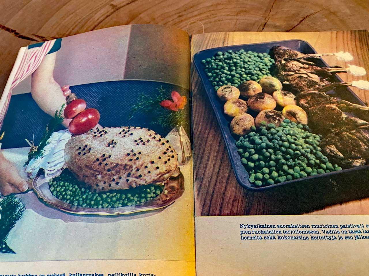 Finnisches Kochbuch von damals