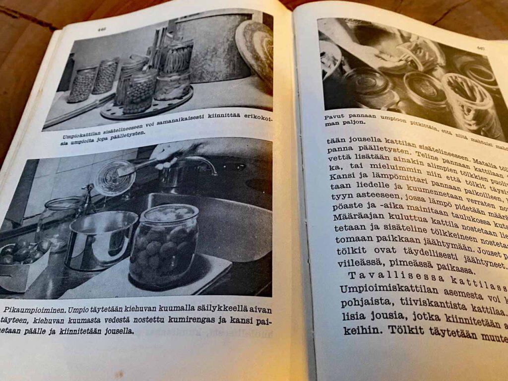 Hausfrauentipps aus einem alten finnischen Kochbuch