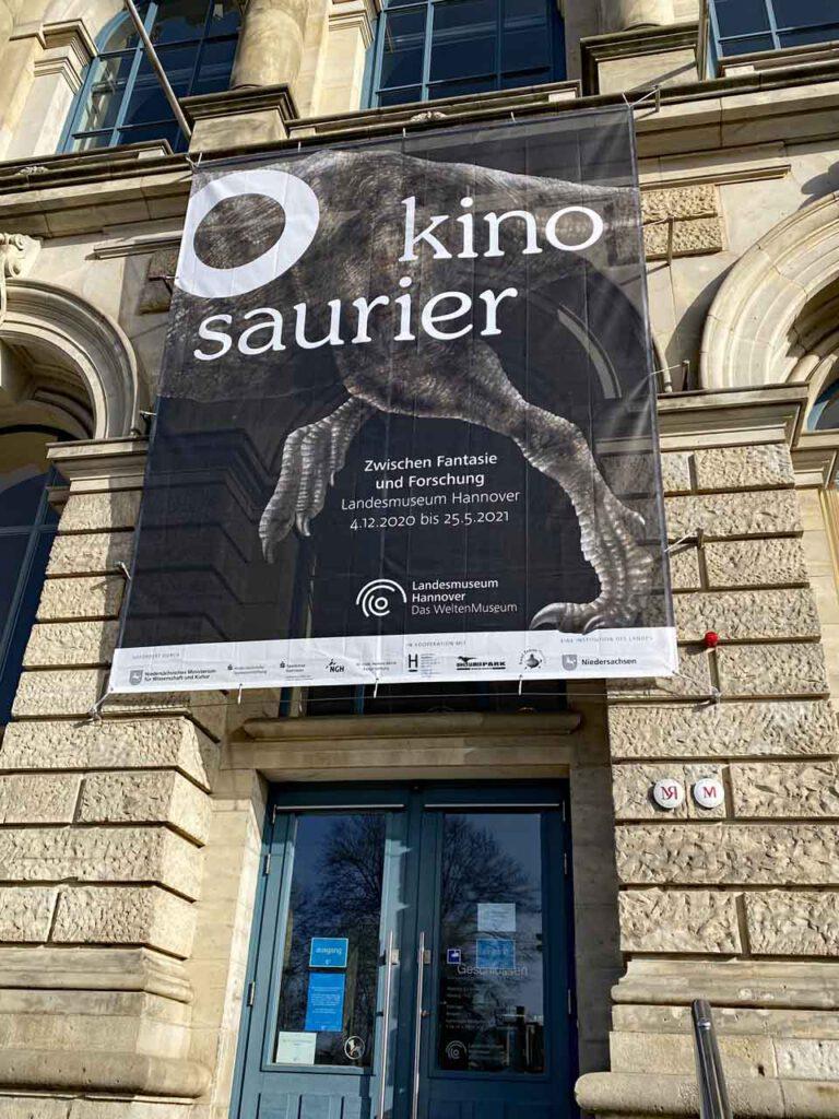 O Kinosaurier Ausstellung Hannover Plakat