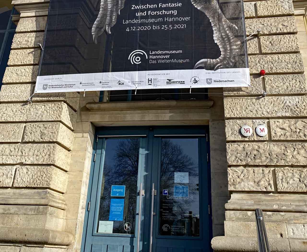 Auge in Auge mit ... mit der Ausstellung im Landesmuseum Hannover