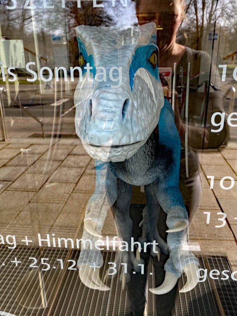 Spiegelbild am Landesmuseum Hannover