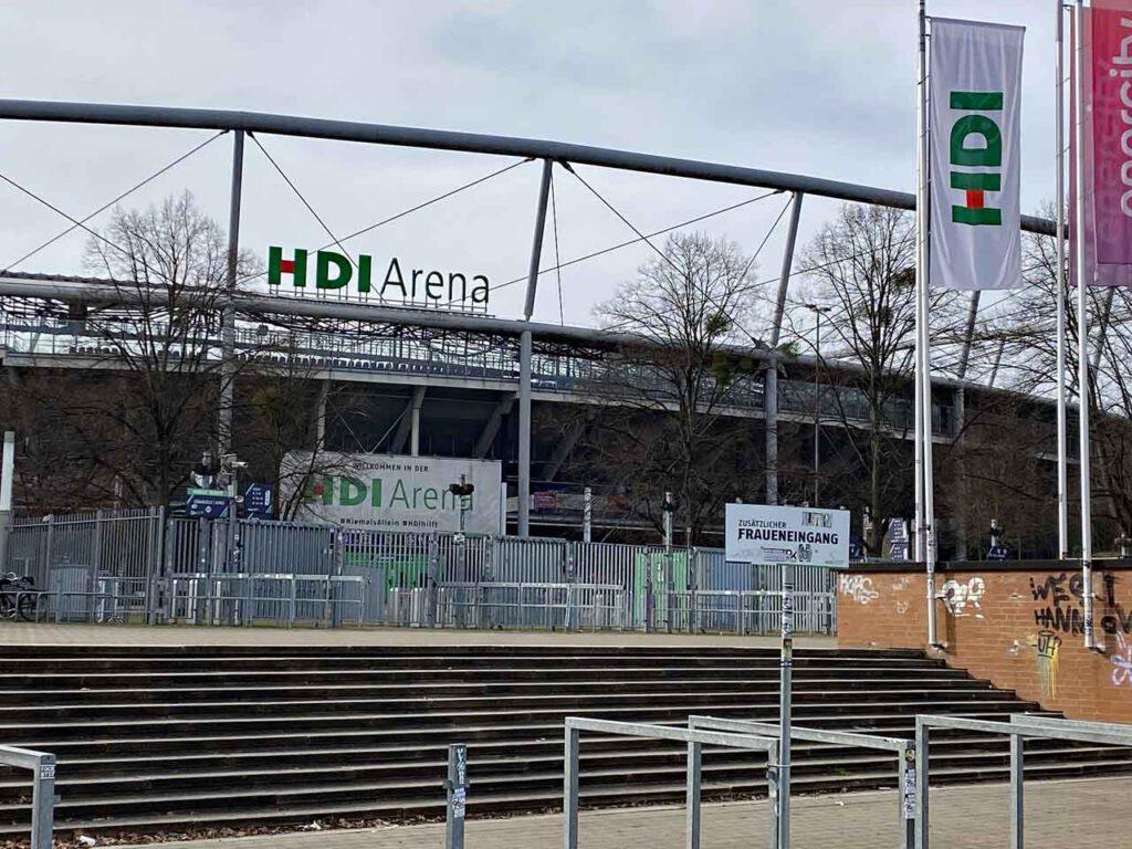 Niedersachsenstadion heute HDI Arena