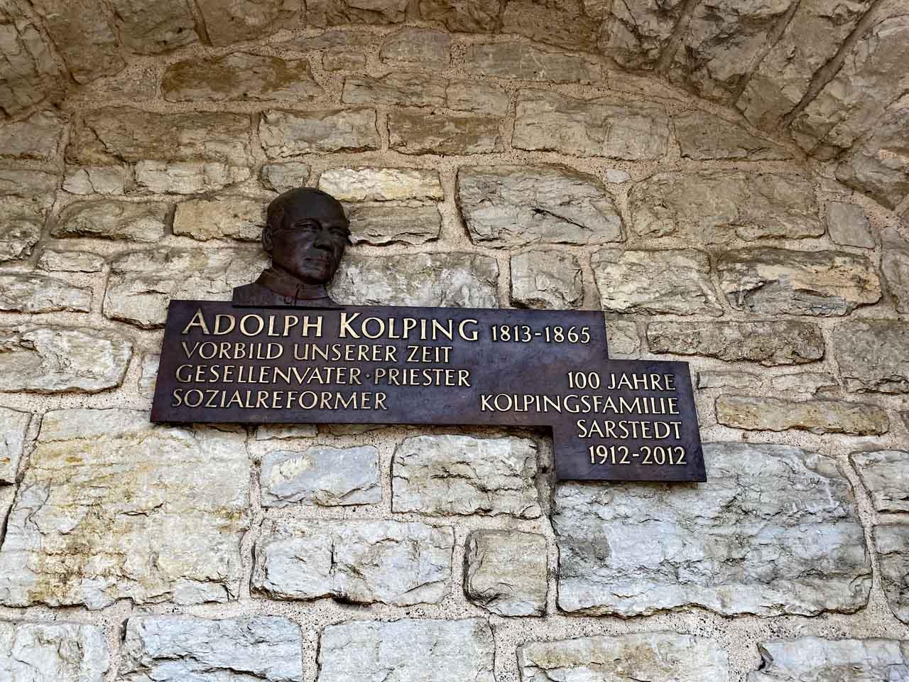 August Kolping Erinnerung