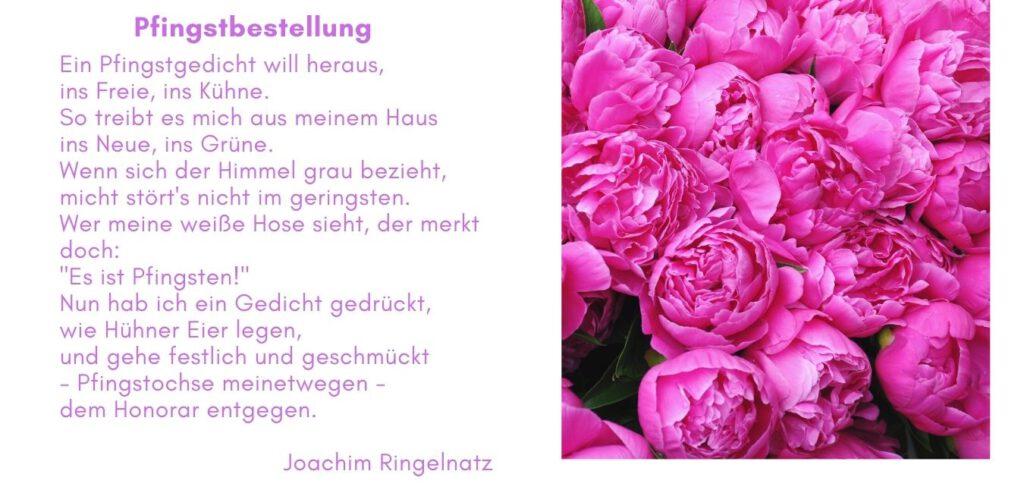 Pfingstbestellung von Joachim Ringelnatz