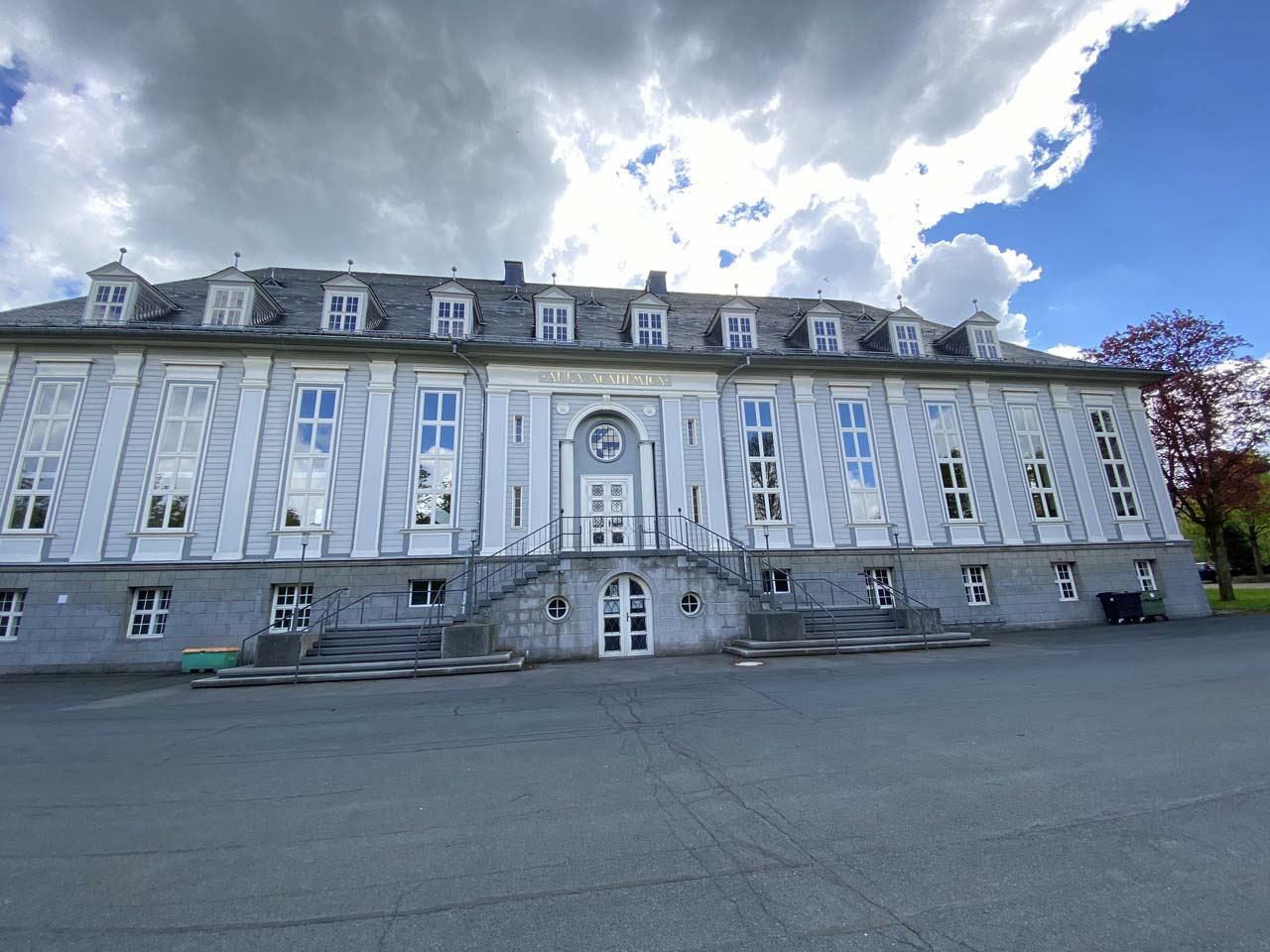 Aula Academica Vordereingang
