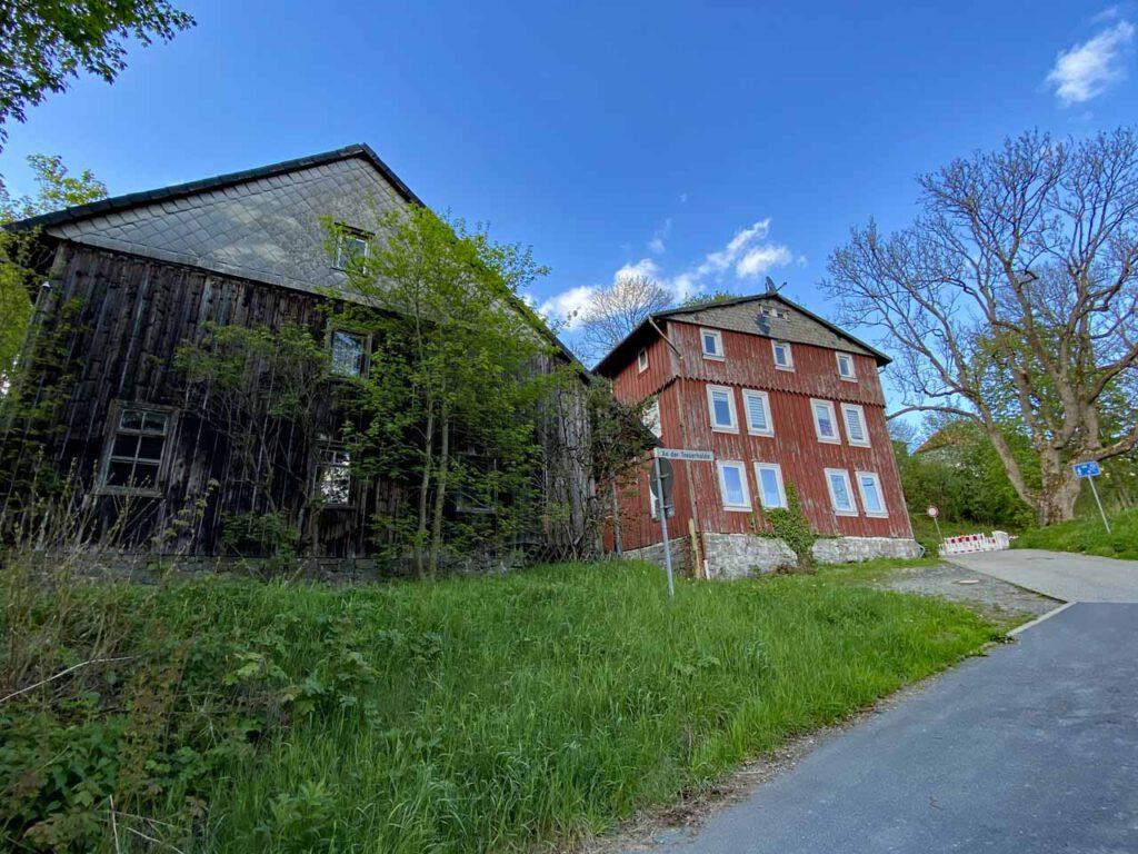 Verlassenene Gebäude im Harz