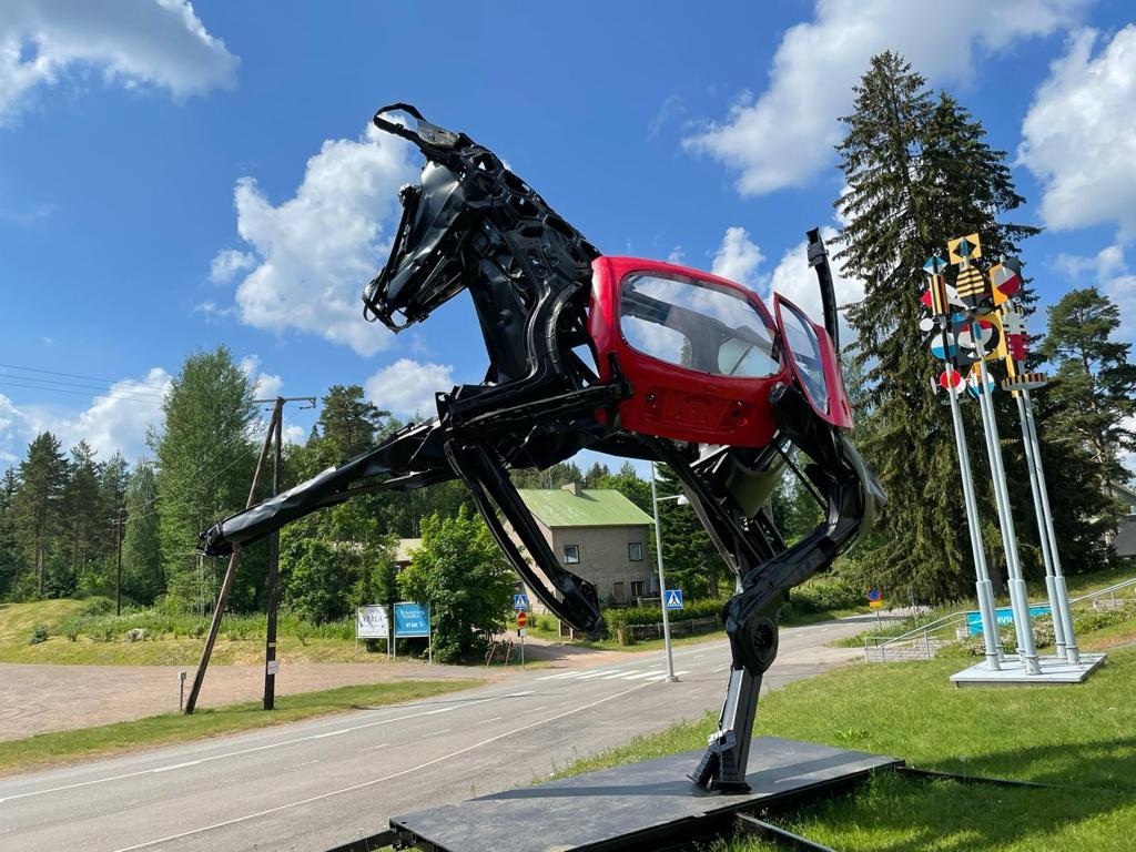 Skulptur Pferd