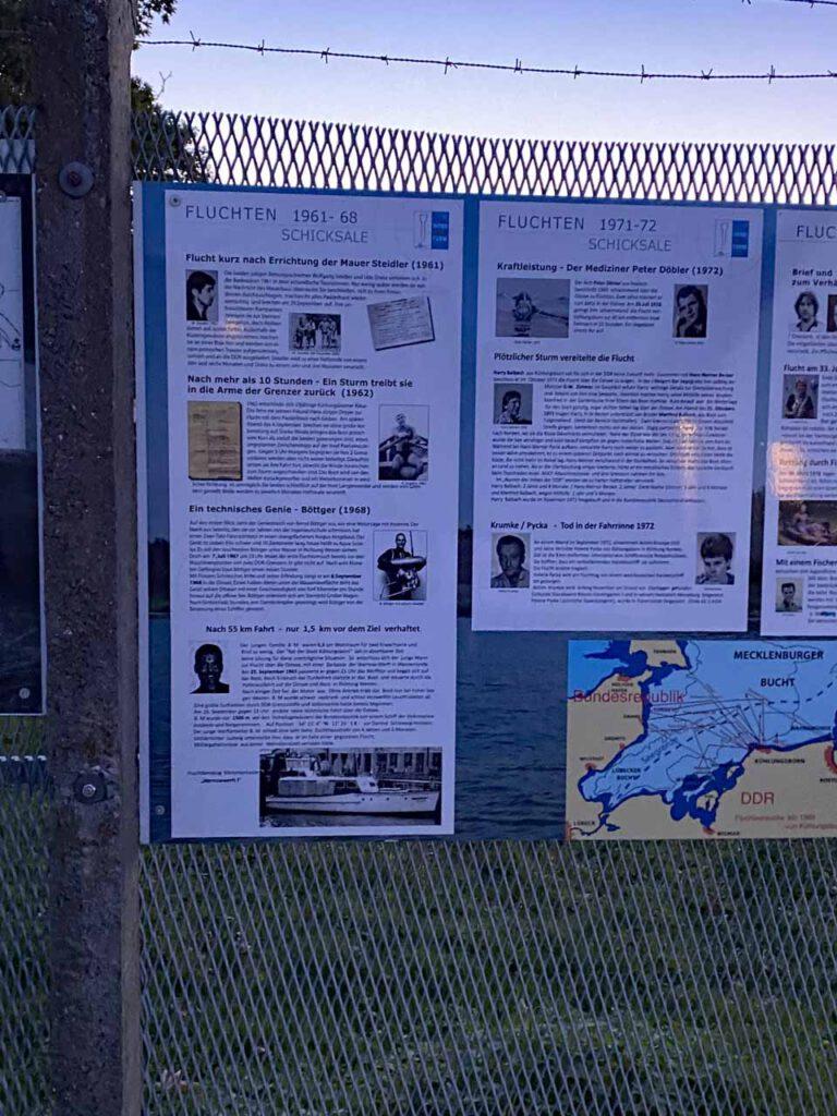 Ostsee Grenzturm Denkmal der Geschichte