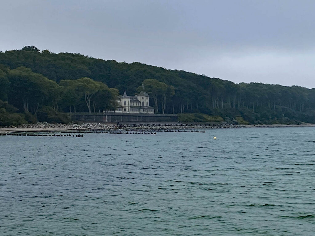 Alexandrinen Cottage Blick über die Ostsee