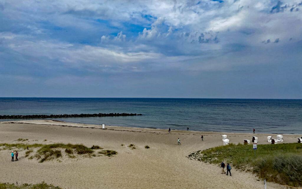Strand Ahrenshop an der Steilküste